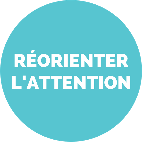 Réorienter l'attention